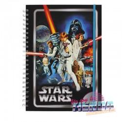 Star Wars, Libreta Espiral...