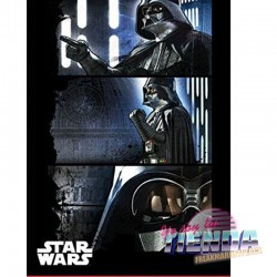 Manta polar Darth Vader,...