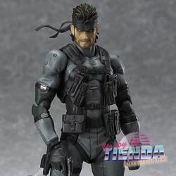 Figura Solid Snake, Metal...