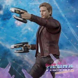 Star Lord y set exposicion,...