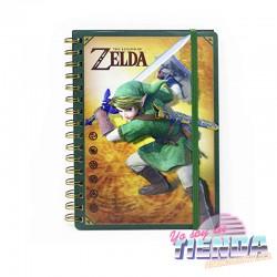 Libreta Espiral Zelda,...