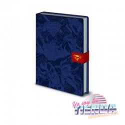 Libreta Superman Premiun A6