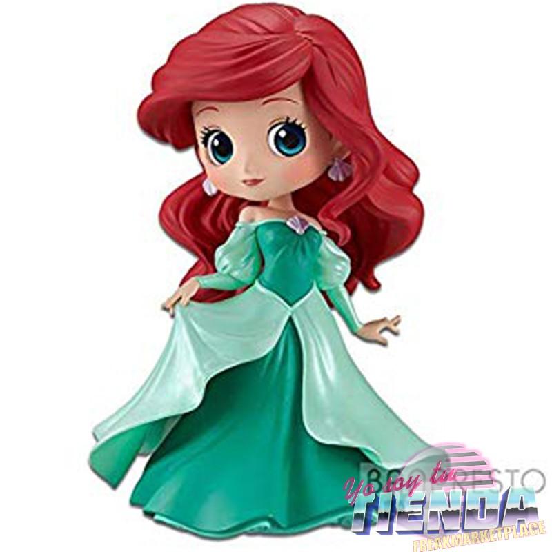 Ariel Con Vestido La Sirenita Banpresto Q Posket 16 Cm