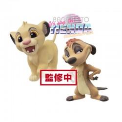 Figuras Simba y Timon,...