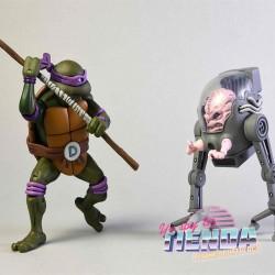 Donatello & Krang, Tortugas...