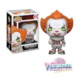 Figura Pennywise Whit Boat,...