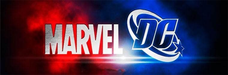 Marvel y DC juntos y enfrentados en el merchandising,
